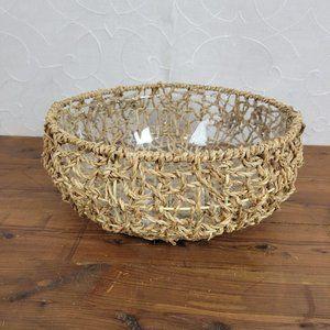 Vintage Baskets Boho Decor Rope Basket Planters